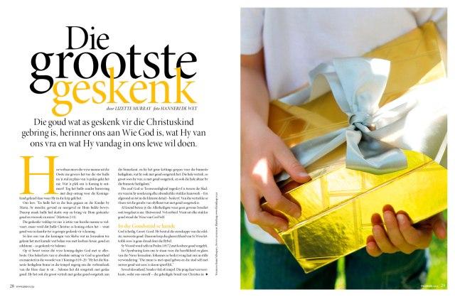 Photographer Hanneri de Wet. Copyright LEEF magazine. Media 24
